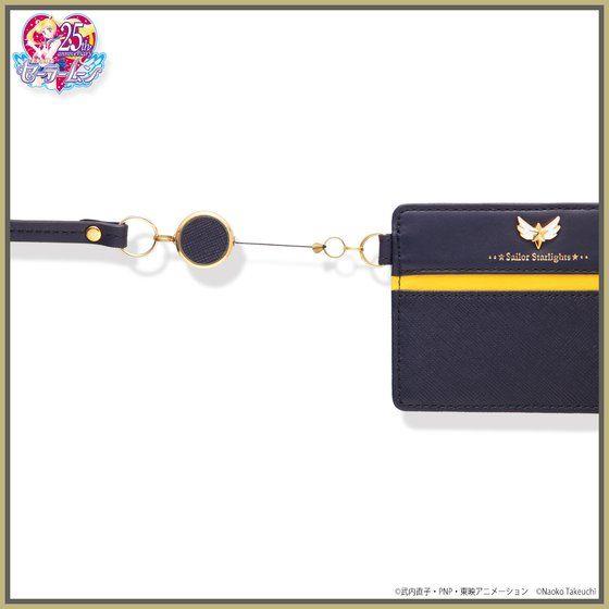 美少女戦士セーラームーン セーラースターライツ レザーリール付きパスケース