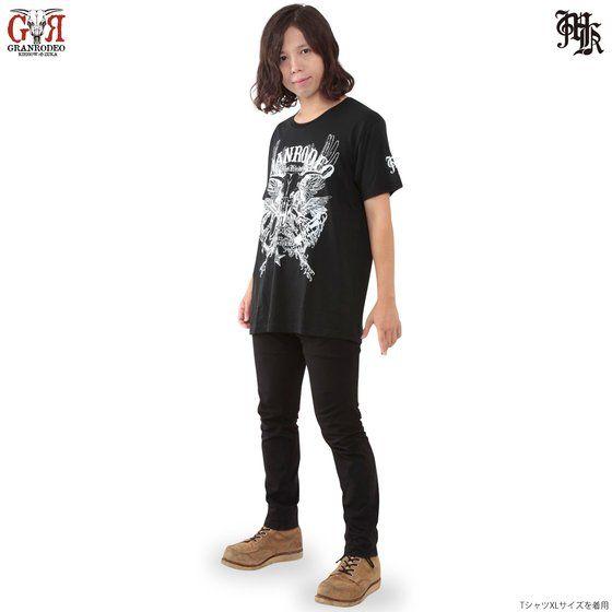 Musikleidung GRANRODEO Tシャツ 黒