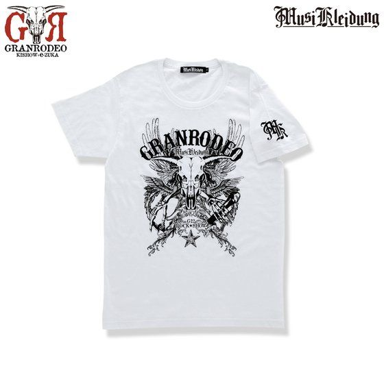 Musikleidung GRANRODEO Tシャツ 白