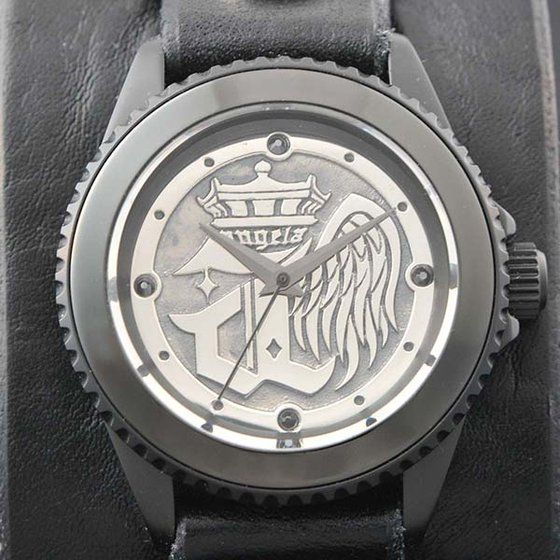 Musikleidung angela×Red Monkey Collaboration Wristwatch Silver925 KATSU Model 【3次受注1月発送分】