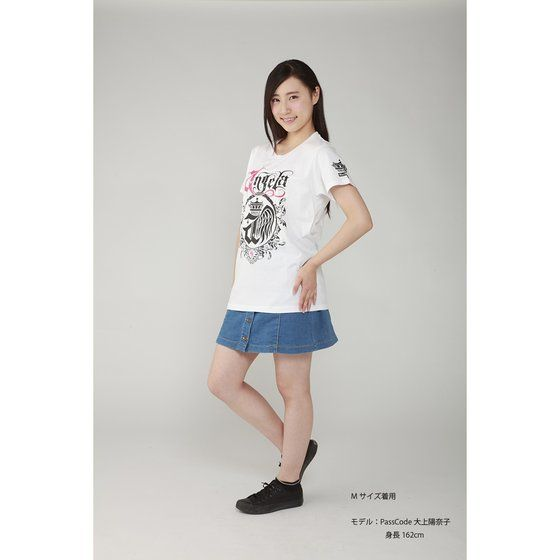 Musikleidung angela Tシャツ 白