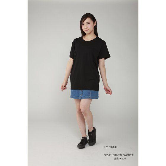 Musikleidung PassCode Tシャツ 黒 【3次受注11月発送分】
