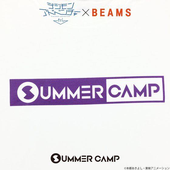 デジモンアドベンチャーtri. SUMMER CAMP Tシャツ(パープル)【2017年11月お届け】