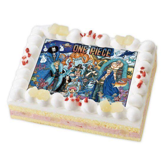 [キャラデコプリントケーキ クリスマス]ONE PIECE 20周年記念ビジュアル