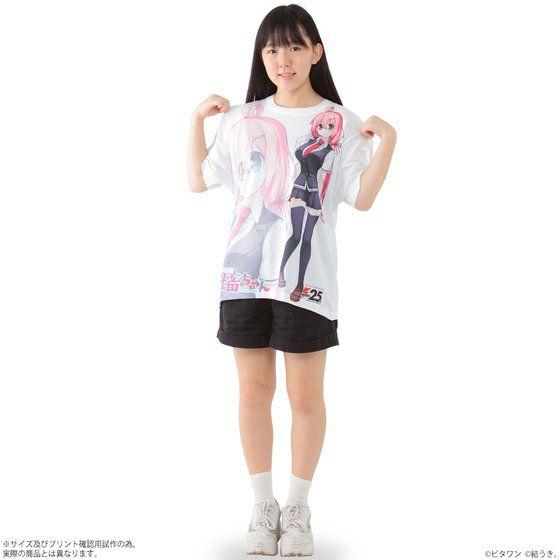 いきのこれ!社畜ちゃん フルパネルTシャツ