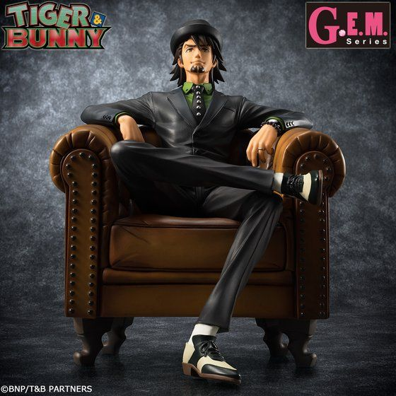 "G.E.M.シリーズ TIGER & BUNNY ""S.O.C"" 鏑木・T・虎徹"