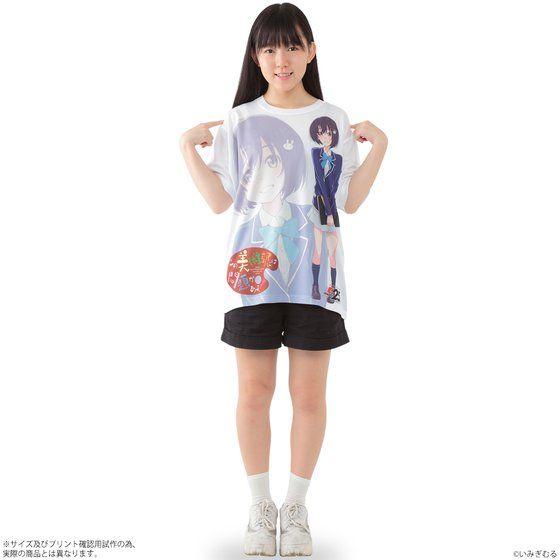 この美術部には問題がある! フルパネルTシャツ