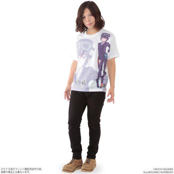 キノの旅 the Beautiful World フルパネルTシャツ