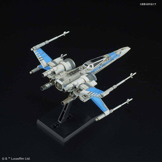 ビークルモデル 011 Xウイング・ファイター レジスタンス ブルー中隊仕様
