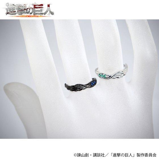 進撃の巨人×MATERIAL CROWN シルバーリング(リヴァイモデル)