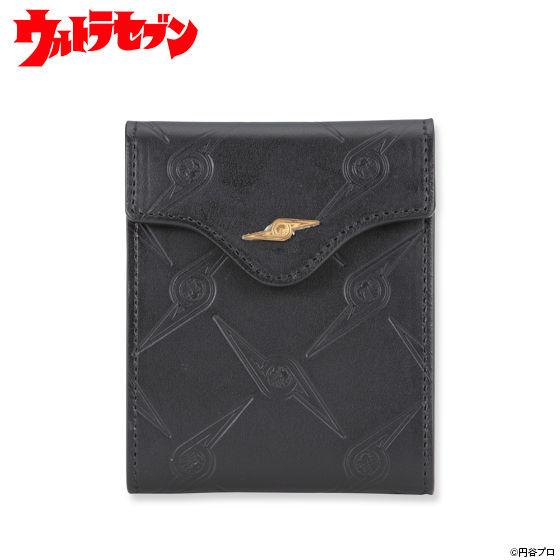 ウルトラセブン ウルトラ警備隊柄コンパクト二つ折り財布