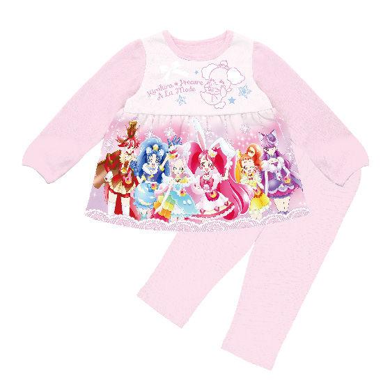 キラキラ☆プリキュアアラモード さわってたのしいパジャマ
