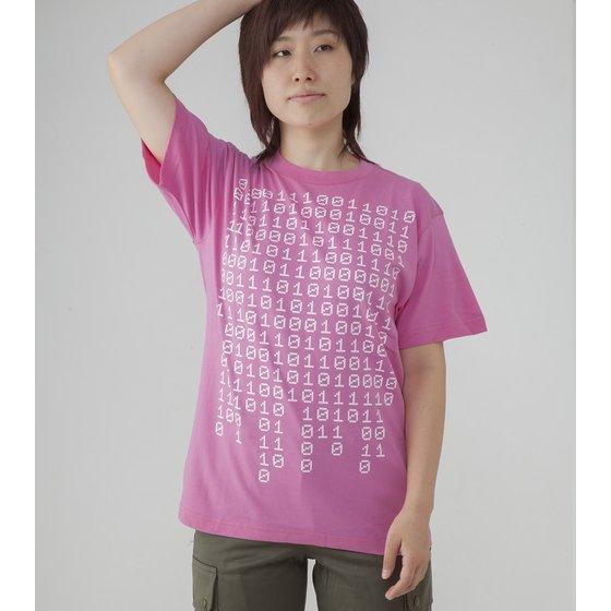 仮面ライダーエグゼイド 宝生永夢Tシャツ 01010101(ピンク)