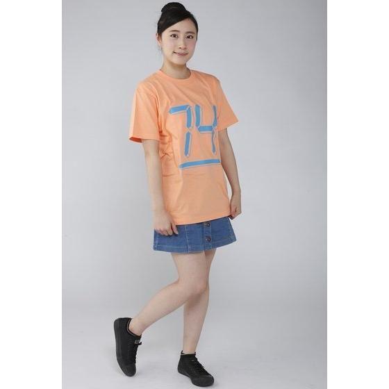 仮面ライダーエグゼイド 宝生永夢Tシャツ 74柄 サーモンピンク