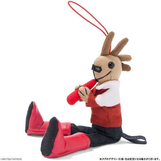 TIGER&BUNNY ココペリ人形チャーム 虎徹/バーナビー 私服Ver.