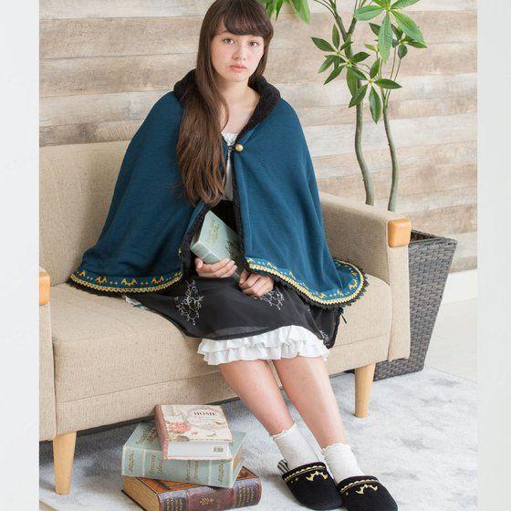 AIKATSU!STYLE for Lady ロリゴシックノワールヴァンパイアポンチョブランケット【2次受注2017年12月お届け】