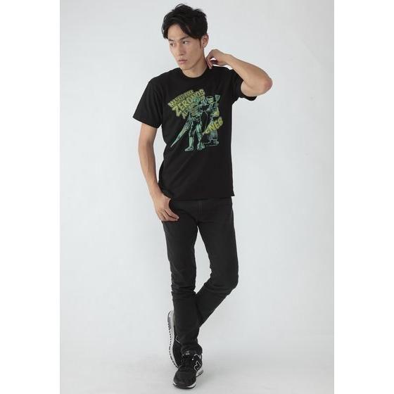 菅原芳人計画×仮面ライダー電王 仮面ライダーゼロノス&デネブ柄Tシャツ