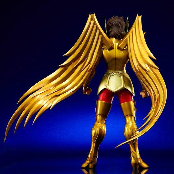聖闘士星矢 ギガンティックシリーズ サジタリアス アイオロス(星矢ヘッド付属Ver)