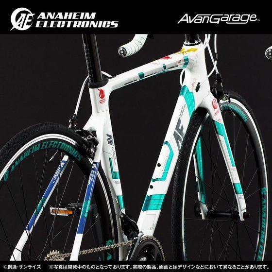AE社製 ユニコーンガンダム ロードバイク RB−CAUC01 (カーボンフレーム)