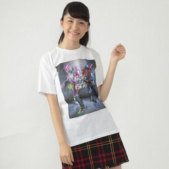 仮面ライダービルド&エグゼイド 2018年カレンダー付 Tシャツ