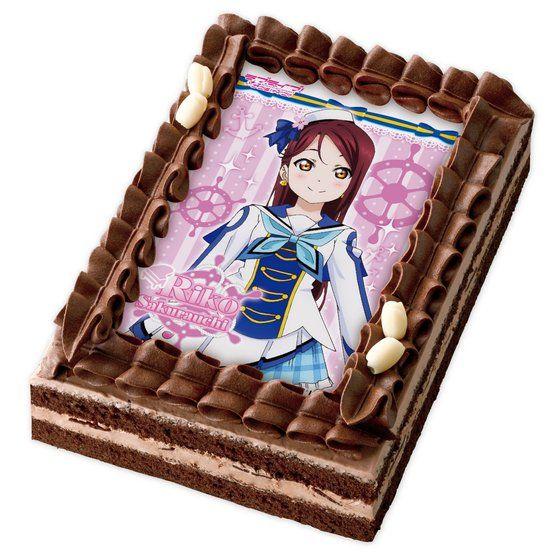 [キャラデコプリントケーキ]ラブライブ!サンシャイン!!  桜内梨子(チョコ)