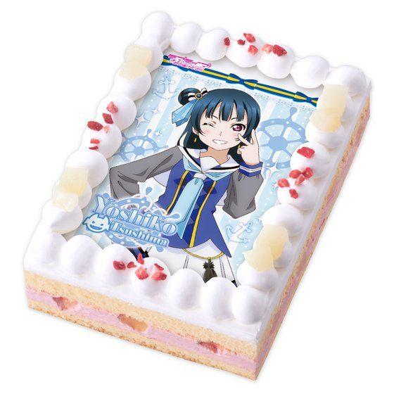 [キャラデコプリントケーキ]ラブライブ!サンシャイン!! 津島善子