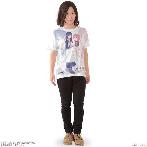 新米姉妹のふたりごはん フルパネルTシャツ