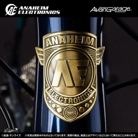 AE社製 ユニコーンガンダム2号機バンシィ・ノルン ロードバイク カーボンフレームセット FR-CAB01【2次:2018年6月発送】