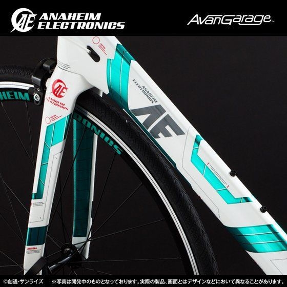 AE社製 ユニコーンガンダム ロードバイク RB−CAUC01 (カーボンフレーム)【2次:2018年6月発送】