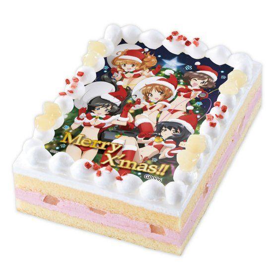 [キャラデコプリントケーキ クリスマス] ガールズ&パンツァー