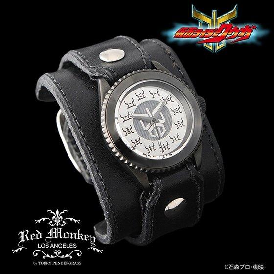 仮面ライダークウガ × Red Monkey designs Collaboration Wristwatch Silver925 High-End Model