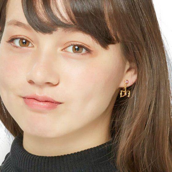 AIKATSU!STYLE for Lady ドーリーリボン ピアス&イヤリング(大地のの・白樺リサ)【2次2018年3月お届け】