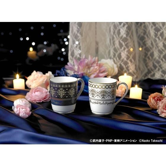【抽選販売】Noritake×美少女戦士セーラームーン プリンセス・セレニティ&プリンス・エンディミオン ペアマグセット