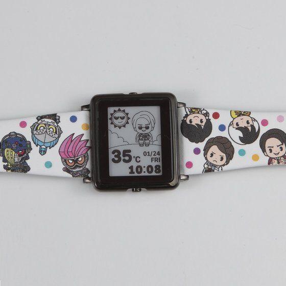 【2018年3月お届け】EPSON smart canvas仮面ライダーエグゼイド&仮面ライダーシリーズ腕時計