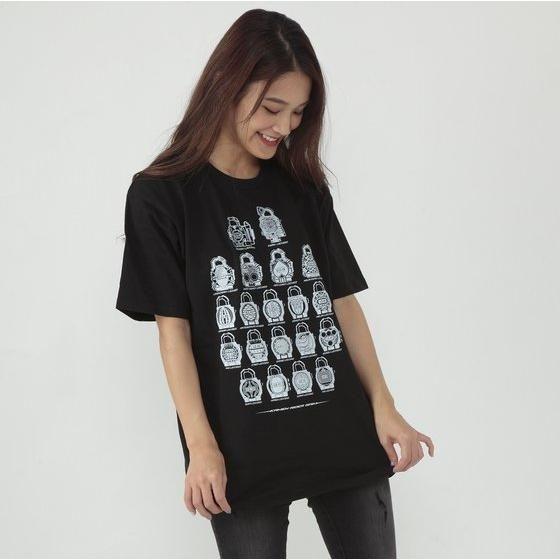 仮面ライダー鎧武 ロックシード柄Tシャツ