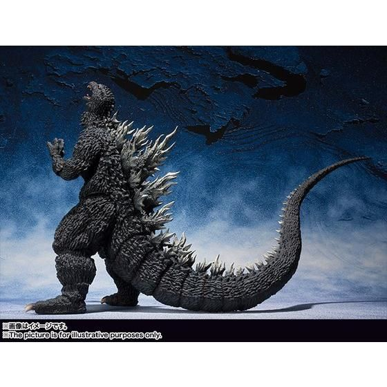 S.H.MonsterArts ゴジラ (2002)