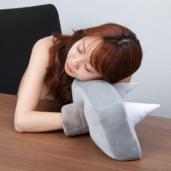 【抽選販売】ひとやすみ腕枕(アームピロー)クッションジャンクマン