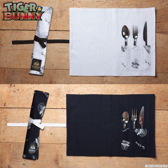 TIGER & BUNNY Living/Dining/Kitchenシリーズ カトラリー入れ付きランチョンマット