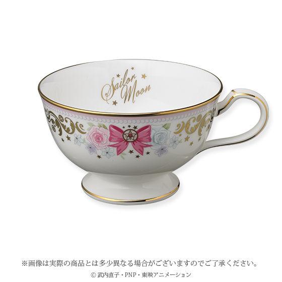 セーラームーンカトラリーセット/ Noritakeコラボ第一弾ティーカップ&ソーサー