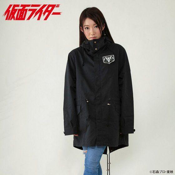 仮面ライダー モッズコート 立花レーシングクラブデザイン