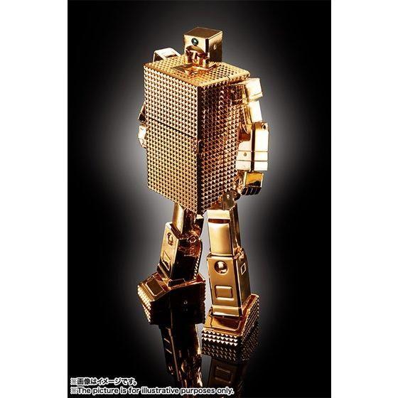 超合金魂 GX-32R ゴールドライタン 24金メッキ仕上げ