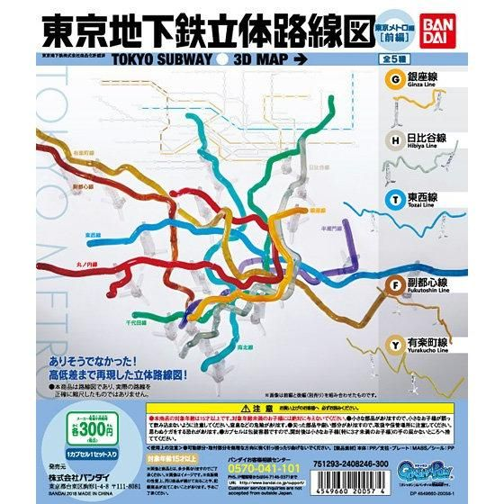 東京地下鉄立体線路 東京メトロ編(前編)