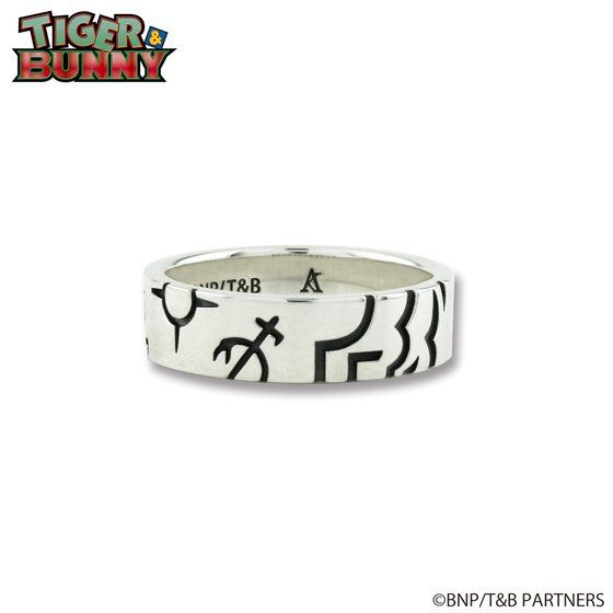 TIGER & BUNNY × ARTEMIS KINGS ウロボロスシリーズ ジェイクモチーフリング