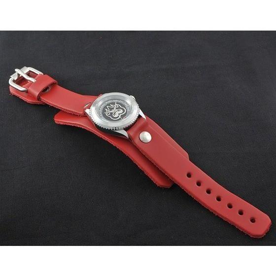 仮面ライダーアクセル × Red Monkey designs Collaboration Wristwatch Silver925 High-End Model