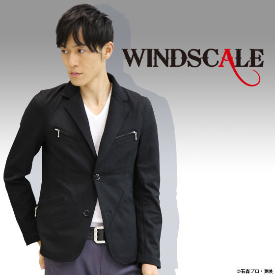 【再販】仮面ライダーW WIND SCALE テーラードニットジャケット