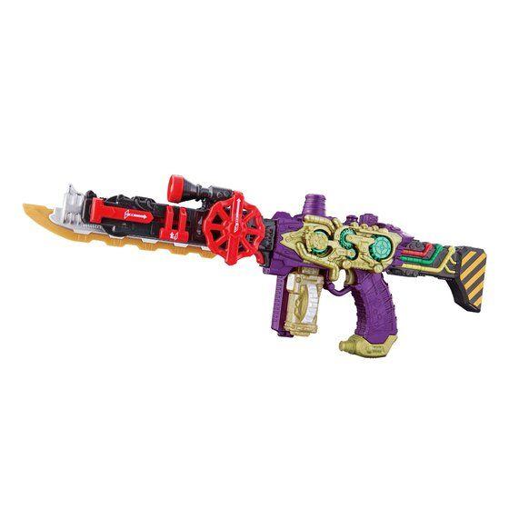 駆鱗煙銃 DXネビュラスチームガン