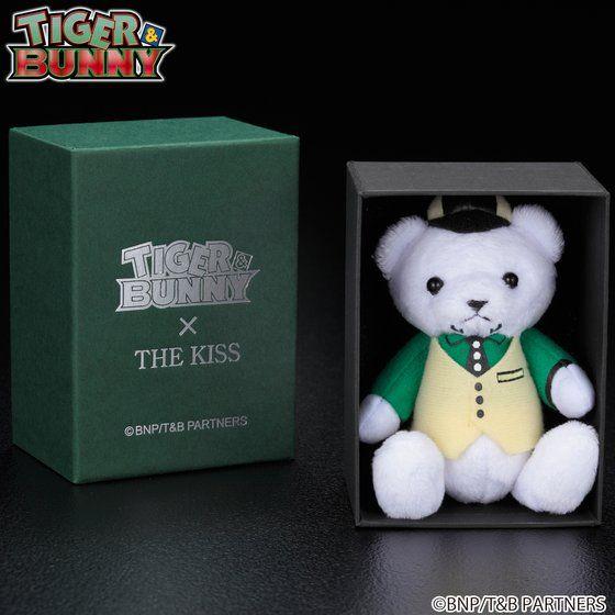 TIGER & BUNNY × THE KISS × BANDAI ベアマスコットチャーム付きリング (単品)