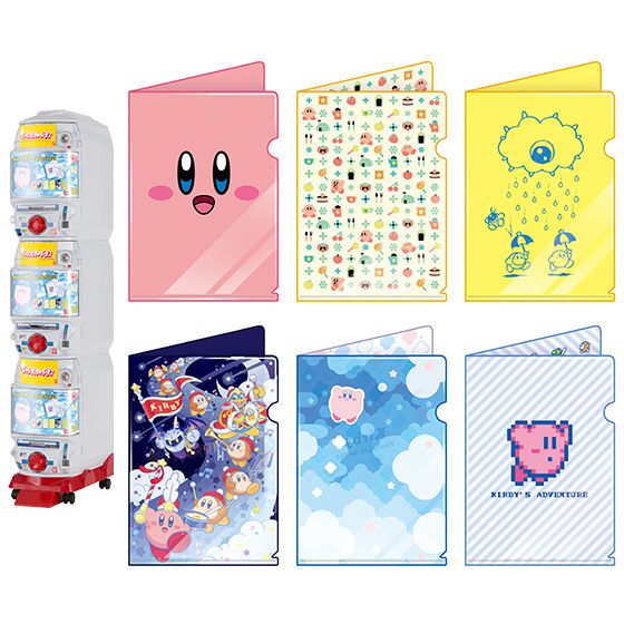星のカービィ miniクリアファイルコレクション3
