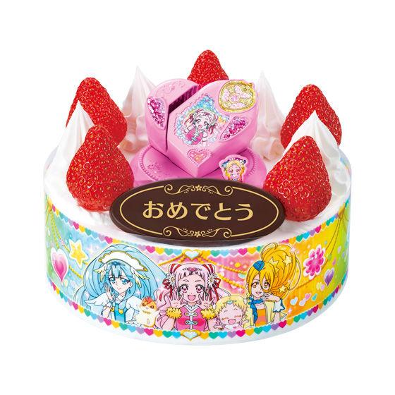 キャラデコお祝いケーキ HUGっと!プリキュア