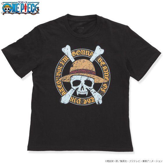 B×R ワンピース Tシャツ 麦わらの一味海賊旗